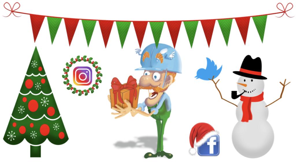 Közösségi hálózati webshop karácsonyra.